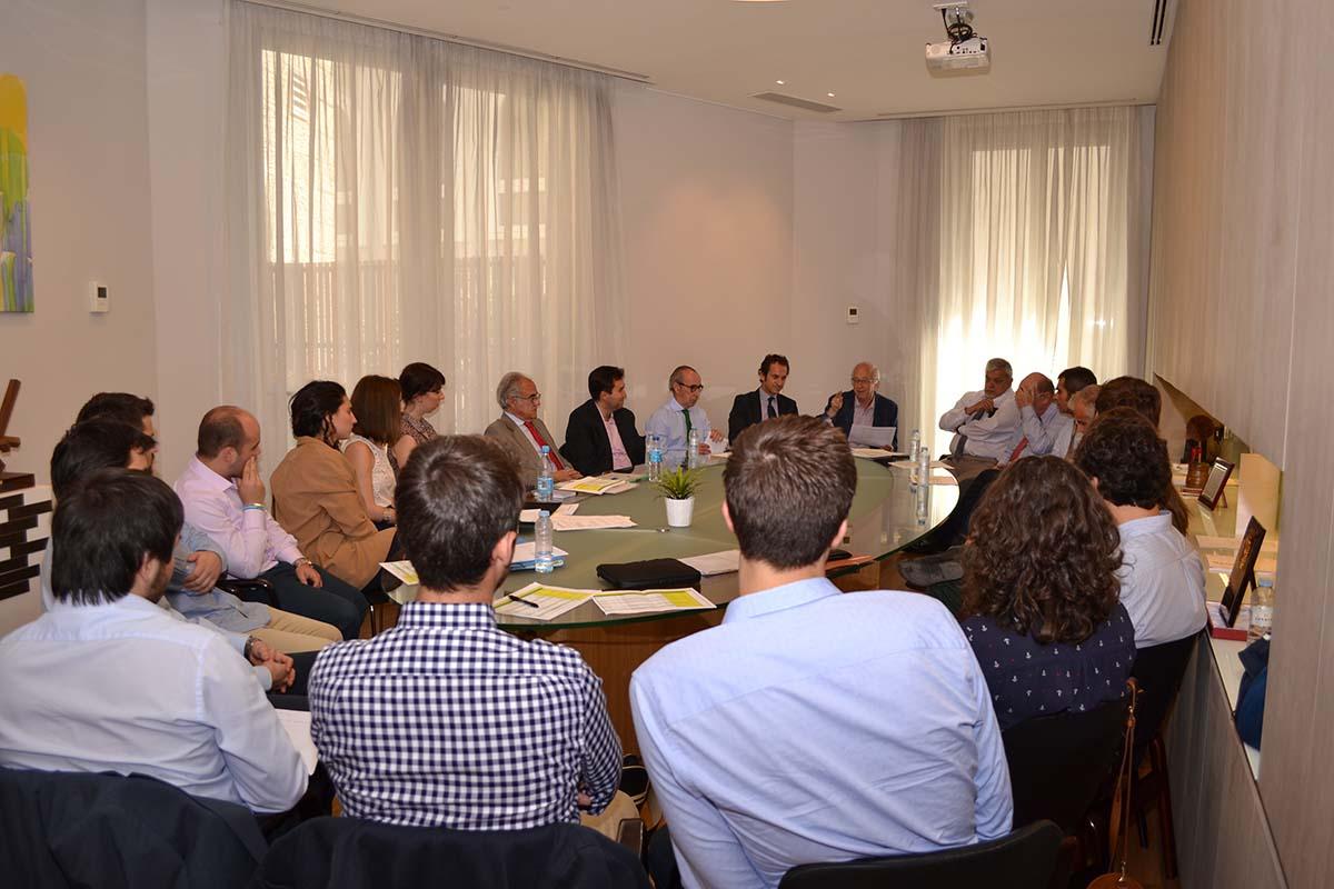 Clausura V Convocatoria de prácticas de formación con empresas constructoras