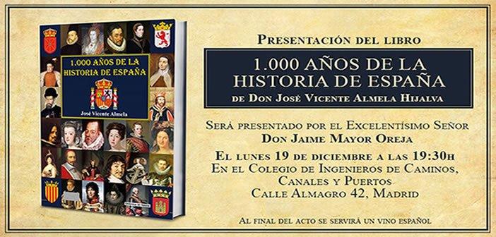 Presentación del libro 1.000 años de la historia de España