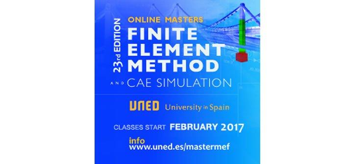 Máster en Teoría y Aplicación Práctica del Método de los Elementos Finitos y Simulación CAE