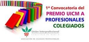 Convocatoria Premios UICM a Profesionales Colegiados