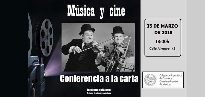 Música y Cine – Conferencia a la Carta