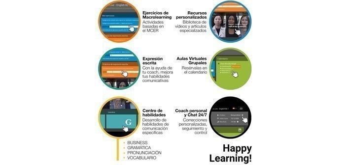 Cursos de idiomas on line – inscripciones los días 20 de cada mes