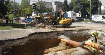 El final del verano no acaba con las obras en Madrid