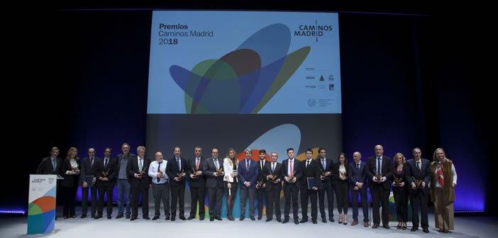 Gala Entrega de Premios Caminos Madrid 2018
