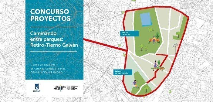"""Concurso de Proyectos """"Caminando entre parques: Retiro – Tierno Galván"""""""