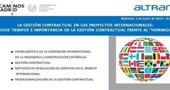 """La Gestión contractual en los proyectos internacionales: nuevos tiempos e importancia de la gestión contractual frente al  """"hormigón"""""""