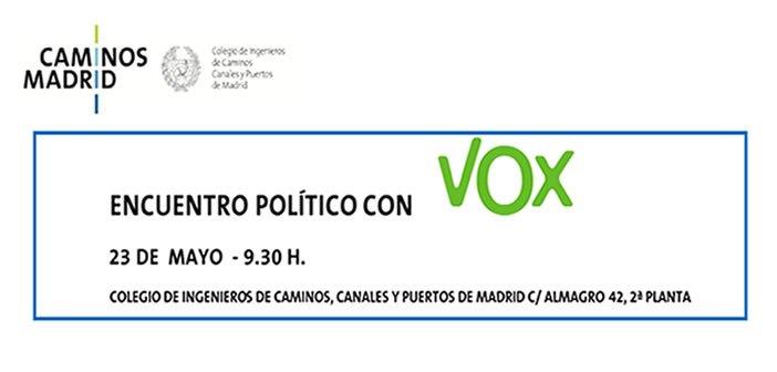 Encuentro Político con VOX