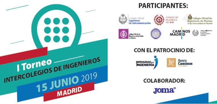 I Torneo Pádel Intercolegios de Ingeniería de Madrid
