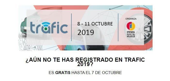 Registrate en Trafic – Gratis hasta el 7 de octubre