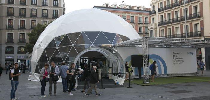 La Semana de la Ingeniería de Caminos en Madrid concluye con más de 33.000 visitantes