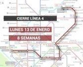 Metro reforzará las líneas 1, 2 y 6 durante el cierre de la L-4