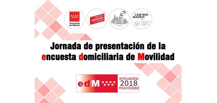 Jornada de presentación de la encuesta domiciliaria de Movilidad