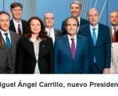 Miguel Ángel Carrillo, nuevo presidente del Colegio de Ingenieros de Caminos
