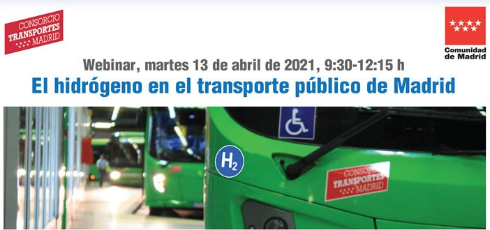Webinar – El hidrógeno en el transporte público de Madrid