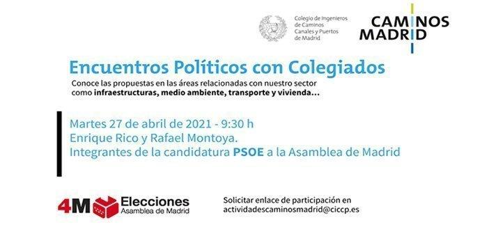 PSOE Encuentros Políticos con Colegiados