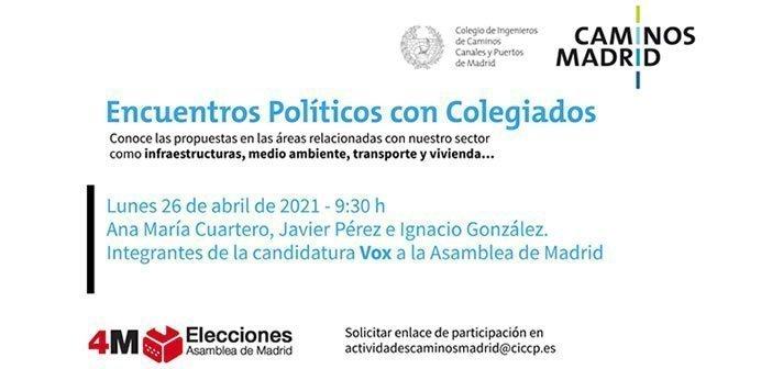VOX Encuentros Políticos con Colegiados