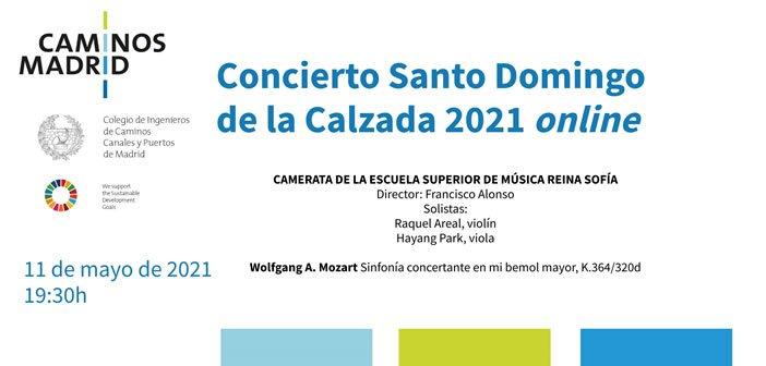 Concierto de Sto. Domingo de la Calzada 2021 online