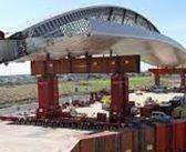 El nuevo puente casi flotante de Madrid ya está instalado