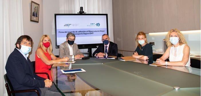 Firma de Adhesión al Observatorio Mujer y Transporte Seguro EMT