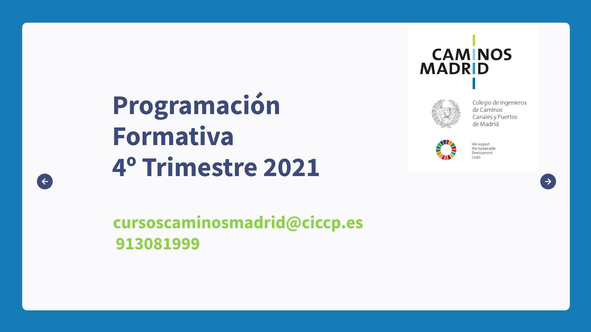 Programación Formativa 2021 4T